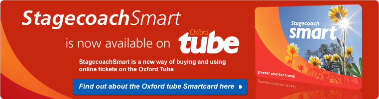 StagecoachSmart Now Available on Oxford Tube